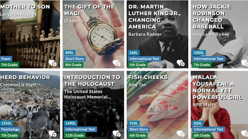 Find free fiction, nonfiction texts and lesson resources for grades 3-12 ELA on CommonLit