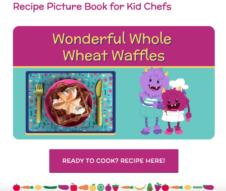 Get Kids Excited with Nomster Chef's Illustrated Recipe Book for Kids