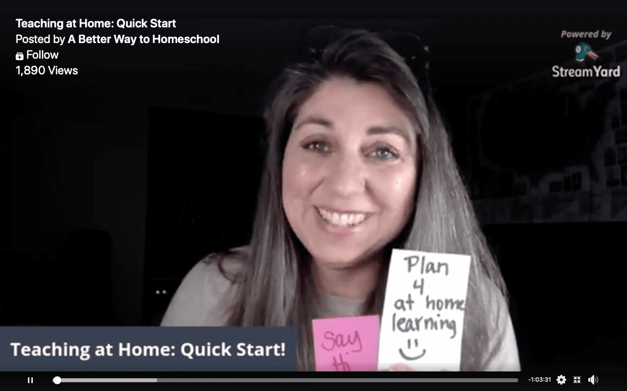 Advice, Schedule, and 7 Weeks of At-Home Learning Guides for K-12 Parents