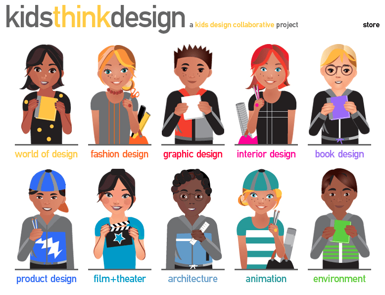 Learn About Various Design Occupations with Kids Design Collaborative