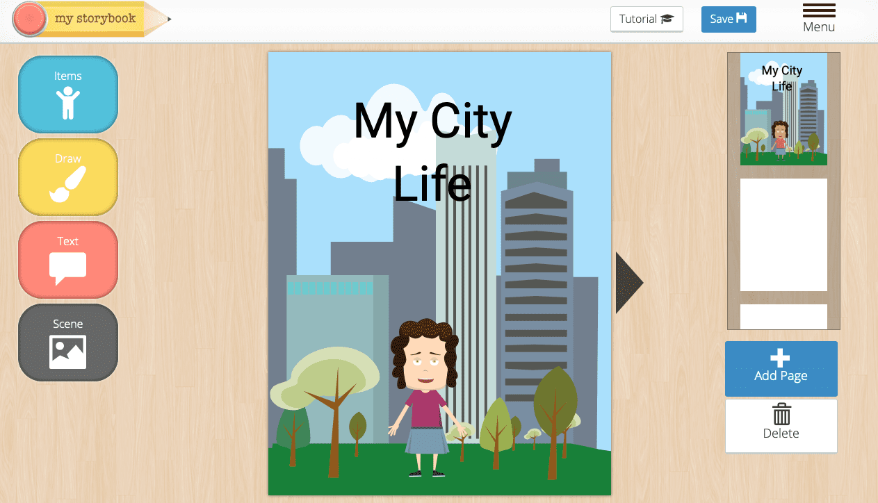 Create Your Own Stories and Illustrations Online With My Storybook