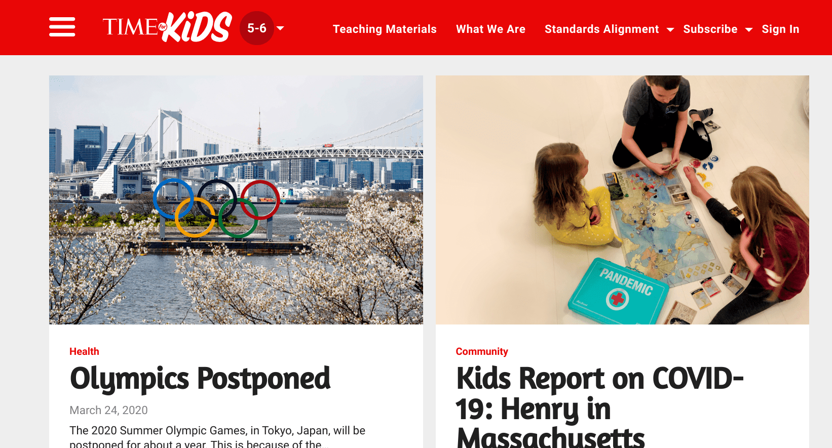 Giving Kids Access to the News with TIME for kids