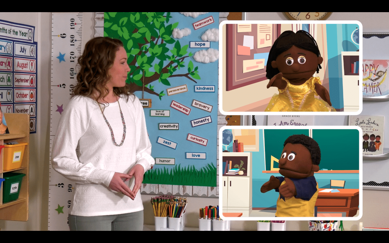The Character Tree offers free videos and activities that focus on character traits