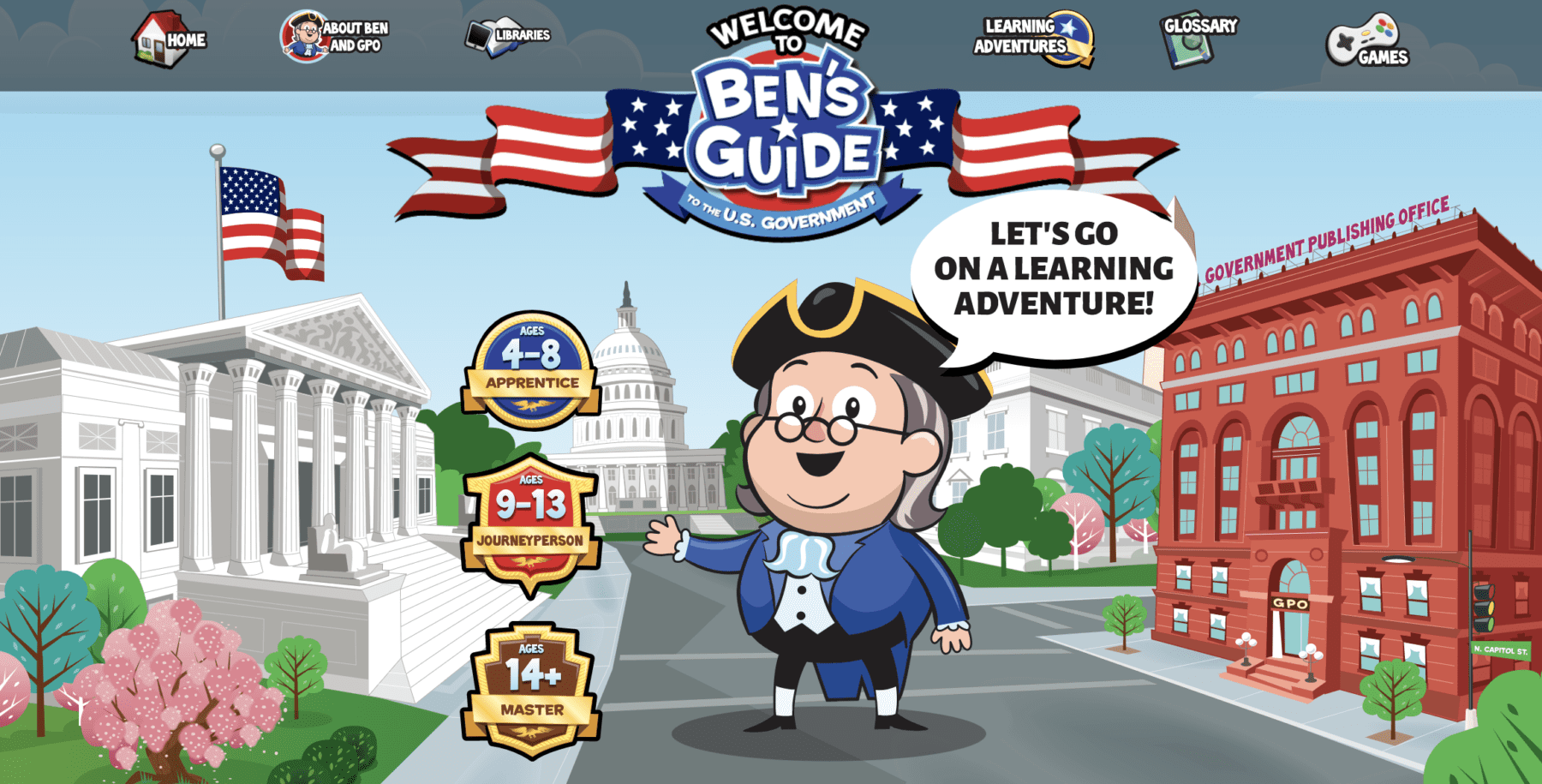 Ben's Guide for ages 4-14+