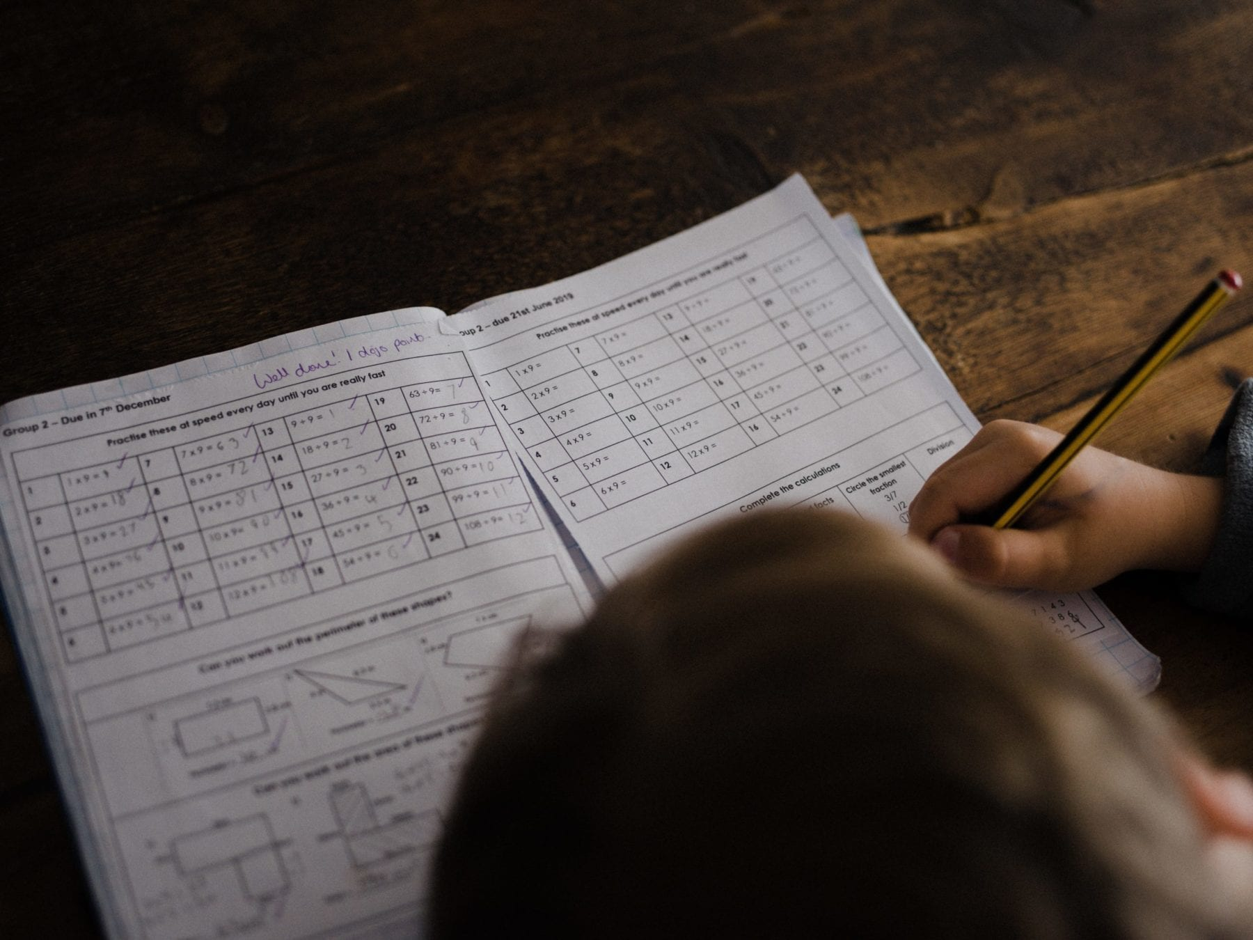 K-5 Math offers printable packets, choice boards
