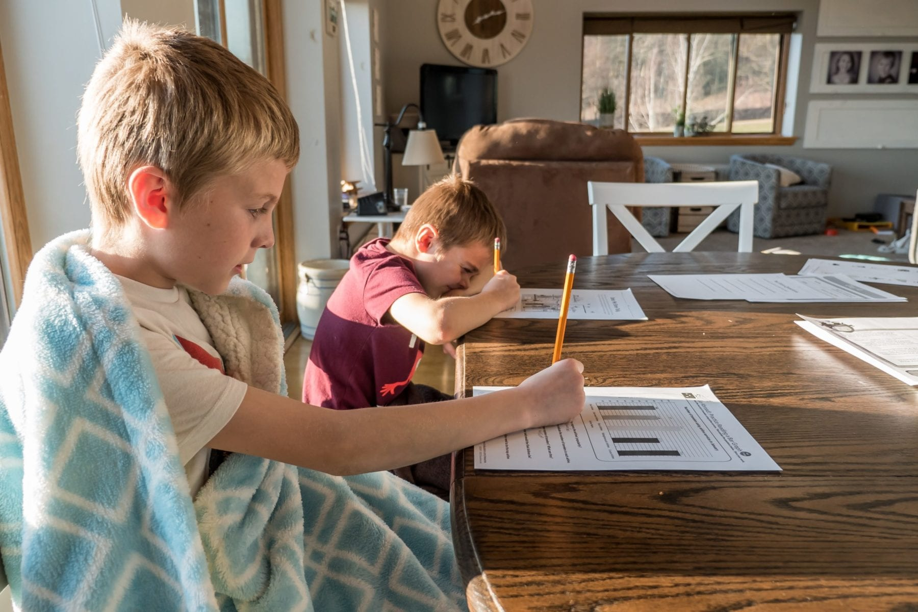 Free printable worksheets for students at home