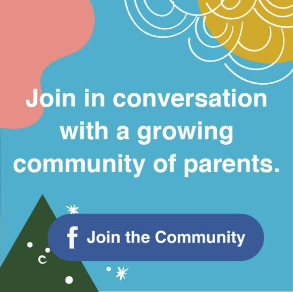 Join in conversation with a growing community of parents